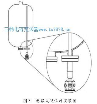 电容式液位计安装图