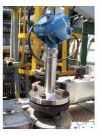 图:安装了雷达液位计,提供液位测量和自动控制